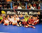 2013.12.30. A Real Team Kupán a Loki 2006-os gyerekek is fociztak